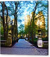 Rittenhouse Square Park Canvas Print