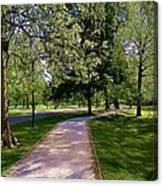 Ritter Park Paths Canvas Print