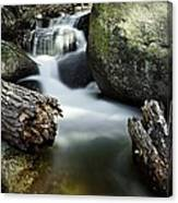 River And Rocks Canvas Print