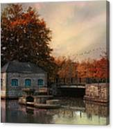 River Antiquity Canvas Print