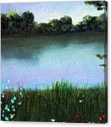 River Bank Canvas Print