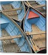 River Boats Canvas Print