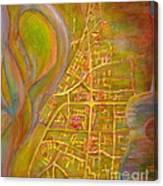 River City Blues Canvas Print