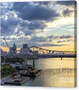 River City - D008587 Canvas Print