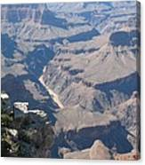 River Deep - Mountain High - Grand Canyon And Colorado River Canvas Print