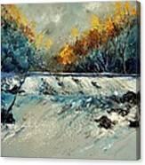 River Fall Canvas Print