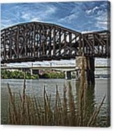 River Ferry Canvas Print