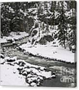 River Flow One Canvas Print