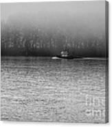River Fog Canvas Print