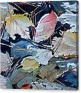 River Leaves Canvas Print