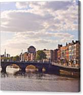 River Liffey 2 - Dublin Canvas Print