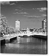 River Liffey - Dublin Canvas Print