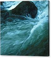 River Lynn In Surge Canvas Print