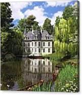 River Mansion Canvas Print