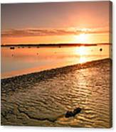 River Medway Sunrise IIi - Nuclear Explosion Canvas Print