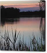 River Murray Sunset Series 2 Canvas Print