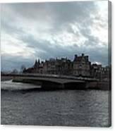 River Ness Bridgeway Canvas Print
