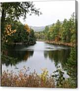 River North Conway Canvas Print