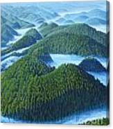 River Of Clouds Canvas Print