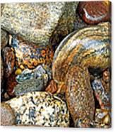 River Rocks 11 Canvas Print