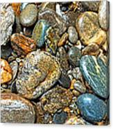 River Rocks 14 Canvas Print