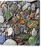 River Rocks 22 Canvas Print