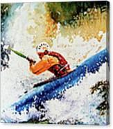 River Rush Canvas Print