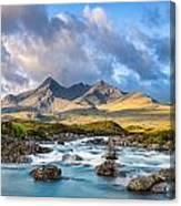 River Sligachan Canvas Print