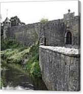 River Suir And Cahir Castle Canvas Print