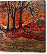 River Sunrise - Lothlorien Canvas Print