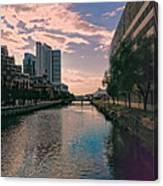 River Through Baltimore Canvas Print