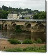 River Vienne - France Canvas Print