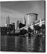 River View Of Cleveland Ohio Canvas Print