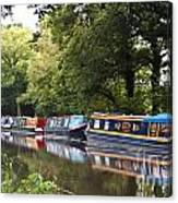 River Wey Navigation Canvas Print