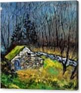 River Ywoigne 7651 Canvas Print
