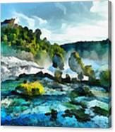 Riverscape Canvas Print