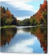 Riverside Colors 1 Canvas Print