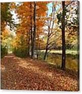 Riverside Colors 5 Canvas Print