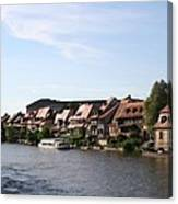Riverside Of Bamberg - Germany Canvas Print