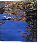 Riverwalk Refletion Canvas Print