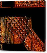 Rivets Number Two Canvas Print