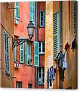 Riviera Alley Canvas Print