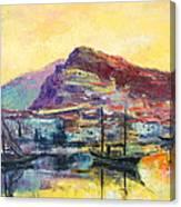 Riviera Di Ponente Canvas Print