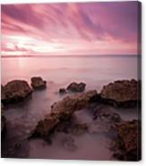 Riviera Maya Sunrise Canvas Print