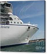 Riviera Ocean Liner Canvas Print