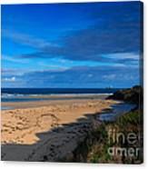 Riviere Sands Cornwall Canvas Print