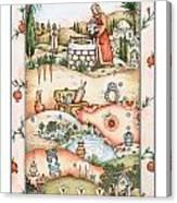 Rivkah's Well Canvas Print