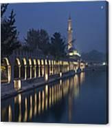 Rizvaniye Mosque And Halil-u Rahman Canvas Print