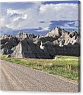 Road From Interior Canvas Print
