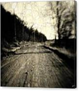 Road Of The Past Canvas Print